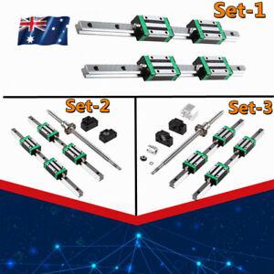 HGR20 Linear Rail  Shaft Rail & BallScrew SFU1605 RM1605&BK/BF12 Set 200-1700mm