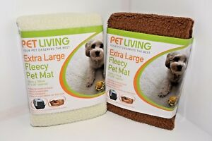 Pet Living Faux Sheep Skin Fleecy Blanket, Extra Large,