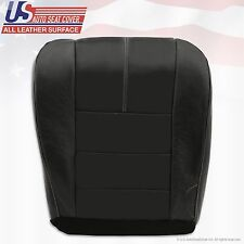 2008 2009 2010 Ford F250 F350 F450 F550 Driver Bottom Leather Seat Cover-Black