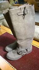 BROWN CHARLOTTE RUSSE SIZE 10 KNEE HIGH BOOTS