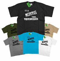 Mens It's a Morris thing… you wouldn't understand T Shirt Classic Retro Minor