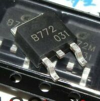 20PCS B772 2SB772 3A/40V PNP TO-252 transistor NEW