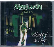 MARILLION RECITAL OF THE SCRIPT - 2 CD SIGILLATO!!!