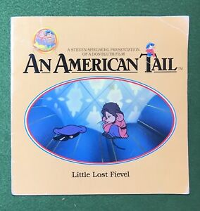 An American Tail Little Lost Fievel1986 PlayValue Books Don Bluth cartoon movie