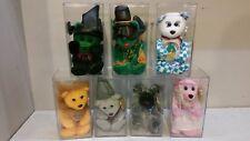 Lot of 7 Wizard Of Oz Celebrity Bears