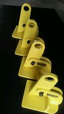 Lot of 4 Plate lifting  clamp SAFETY CLAMP INC. Model HL, 1 ton pp, 0 to 2 inch.