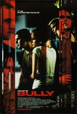BULLY - 27x40 Original Movie Poster One Sheet 2001 Larry Clark Brad Renfro RARE