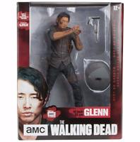 McFarlane Toy *Glenn* 10-Inch Deluxe Action Figure Walking Dead Figurine - NEW!