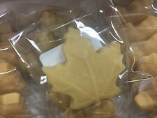 100% Pure Maple Sugar Candy - Large Leaves 18ct - All Natural Maple Syrup