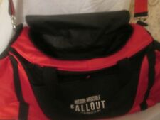 MOVIE PROMO MISSION IMPOSSIBLE FALLOUT  DUFFLE BAG RED &BLACK