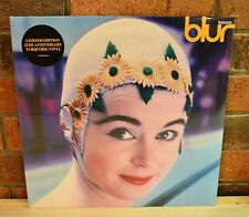 BLUR - Leisure, Ltd Edition 25th Anni TURQUOISE COLORED VINYL LP New & Sealed!
