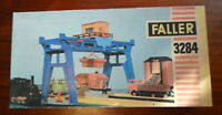 FALLER HIT TRAIN - PORTALKRAN KRAN SET GRUNDPACKUNG 3284 - SPUR 0 PLAY OVP