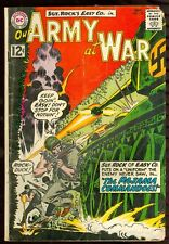 DC Comics Our Army at War 122 GD Condition
