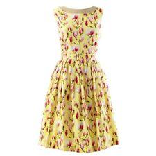 Rachel Riley Yellow Floral Magnolia Dress Size 12 BNWT