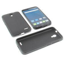 Funda para Alcatel one touch Pop Pop 2 (4.5) Funda para móvil Goma Negro