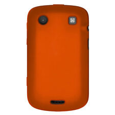 Amzer Orange Silicone Skin Jelly Case For BlackBerry Bold 9900/ 9930