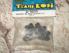 VINTAGE RC TEAM LOSI XXX4 SERIES GRAPHITE FRONT SUPPORT SET 9849
