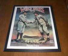 1909 WORLD SERIES TIGERS vs PIRATES FRAMED 11X14 PRINT