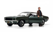 Greenlight 1968 Ford Mustang GT Fastback + Steve McQueen Figure Bullitt 1/18