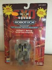 "Exo Squad Robotech RAIDAR X BATTLOID TACTICAL CORPS 3.5"" Action Figure MOC, 1994"