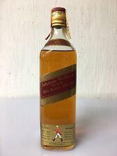 Johnnie Walker Red Label Old Scotch Whisky 75cl 40% Vol Vintage