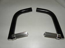Bar-ends barends, aluminio con borne de interior pliegue leves hacia adentro, nuevo nr 02930