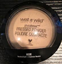 WET n WILD Photo Focus Pressed Powder - Neutral Buff - 822E -  NEW SEALED