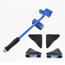 660lb Furniture Lifter Glider Shift Wheel Rotatable Slider Moving Lifting System