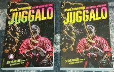 "INSANE CLOWN POSSE ""JUGGALO"" (2) BOOK LOT (RETAIL AND RARE ADVANCED COPY)"