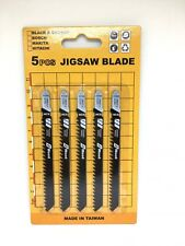 T111C Jigsaw Pack of 20 Blades For Wood Fast Cut 5pc/pk X 4pack