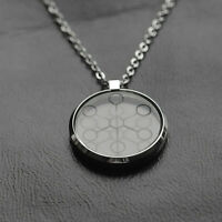 Unisex HOT Stainless Steel Negative Ion Energy Scalar Pendant Chain Necklace
