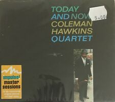 COLEMAN HAWKINS QUARTET TODAY AND NOW CD GRP RECORDS 1996 FAST DISPATCH