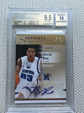 DERRICK ROSE 2010-11 ULTIMATE COLLECTION SIGNATURE AUTO 25/99 BGS 9.5 Sub 10