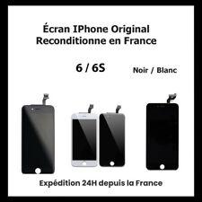 ECRAN POUR IPHONE 6 / 6S LCD VITRE TACTILE NOIR / BLANC (ORIGINAL RECONDITIONNE)