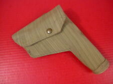 WWII British Canvas Holster for Browning Hi Power Pistol - Dated 1944 - MINT #1