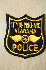 Patches: CITY OF PRICHARD ALABAMA POLICE PATCH (NEW,approx. 3.8x3)