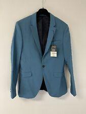 NWT Topman $240 Classic Sz:40R Super Skinny Blazer Suit Jacket Stretch N208