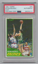 KEVIN MCHALE SIGNED 1980 TOPPS ROOKIE CARD PSA ENCAPSULATED 28375117