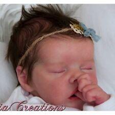 """Twin un par Bonnie Brown nouveau bébé Reborn poupée KIT (Gratuit Demi Ventre Plaque) @ 17"""""""
