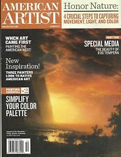 American Artist magazine Egg tempera Color palette Painting the West Native art