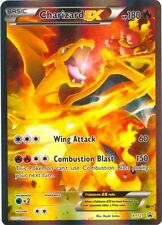 Charizard EX XY121 Red-Blue Black Star FULL ART Promo NEAR MINT Pokemon