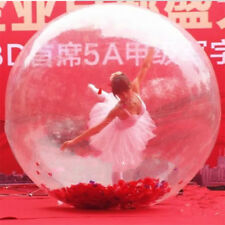 PVC 1.5m inflatable water walking ball water toys dance ball with Chinese zipper