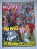 Orig.PRG   1.BL   1989/90   FC BAYERN MÜNCHEN - EINTRACHT FRANKFURT  !!  SELTEN