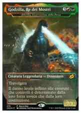 MTG Godzilla Re dei Mostri / Zilortha Incarnazione della Forza PROMO FOIL BaB IT