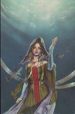 Ex-libris Offset Korrigans Femme sous l'eau