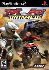 MX vs. ATV Untamed PS2 New Playstation 2