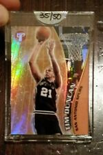 2001 Topps Pristine Gold Refractor Uncirculated Tim Duncan /50 Spurs