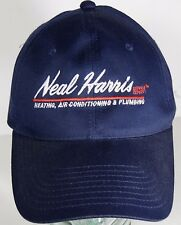 NEAL HARRIS HEATING AIR CONDITIONING PLUMBING ADVERTISING SNAPBACK HAT CAP