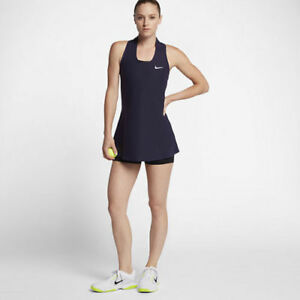 NIKE COURT POWER Maria TENNIS DRESS Size M S Bust 86-92 cm (80 cm long)