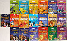 All 19 Different DISNEYLAND 50th Anniversary 2005 Passport Gift Cards Mint & Old